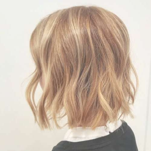 These 35 Medium Bob Hairstyles Are Trending For 2018 For Medium Bob Cut Hairstyles (View 4 of 25)