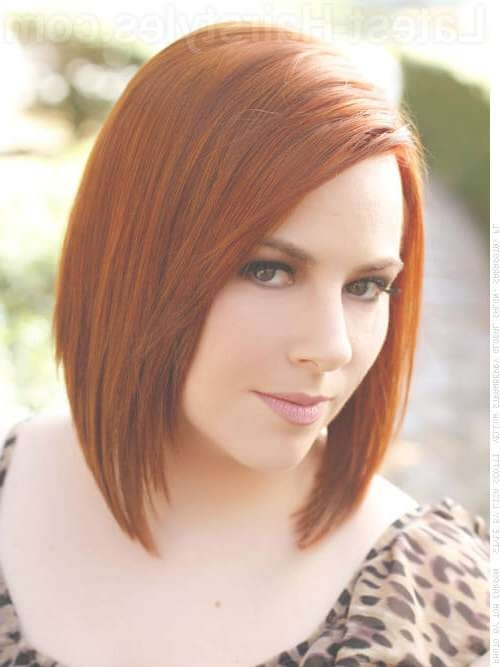 These 35 Medium Bob Hairstyles Are Trending For 2018 In Hot Bob Haircuts (View 21 of 25)