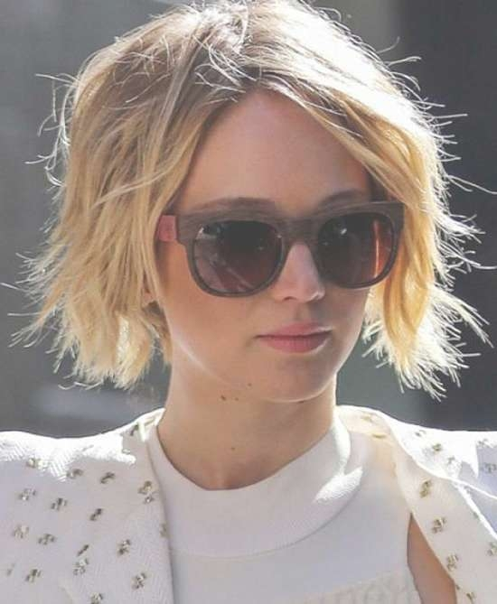 Top 18 Jennifer Lawrence Hairstyles & Haircuts Inspire You Try It For Jennifer Lawrence Bob Haircuts Jennifer Lawrence (View 23 of 25)