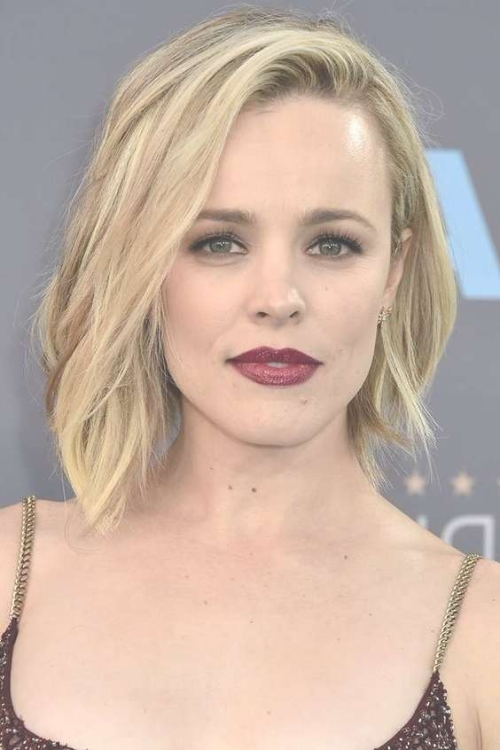 Top 25 Hairstyles For Heart Shaped Faces Inside Latest Cute Medium Haircuts For Heart Shaped Faces (View 20 of 25)