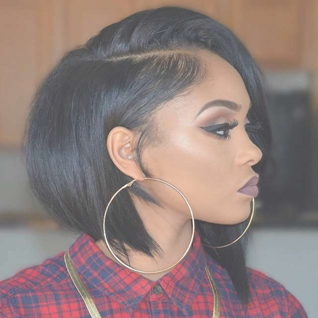 Top 28 Short Bob Hairstyles For Black Women – Hairstyles For Woman In Black Bob Haircuts (View 14 of 25)
