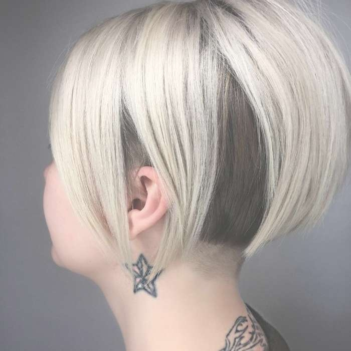 Top 30 Trending Female Undercut Hairstyles For Any Face Shape Intended For Most Recently Undercut Medium Hairstyles For Women (View 17 of 25)