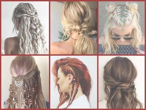 Top 30 Trendy Boho Hairstyles Ideas – Bohemian Hairstyles – Youtube Intended For Best And Newest Boho Medium Hairstyles (View 16 of 25)