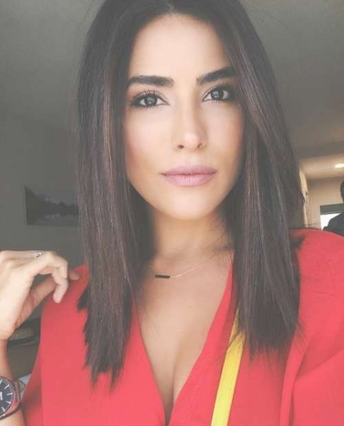 Top Long Bob Hairstyles 2017 – Hairstyles Inspiration Pertaining To Straight Long Bob Hairstyles (View 5 of 25)
