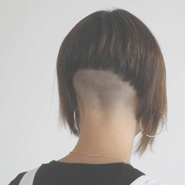 Top Picture Of Back Shaved Hairstyles | Floyd Donaldson Journal Pertaining To Bob Haircuts Shaved In Back (View 18 of 25)