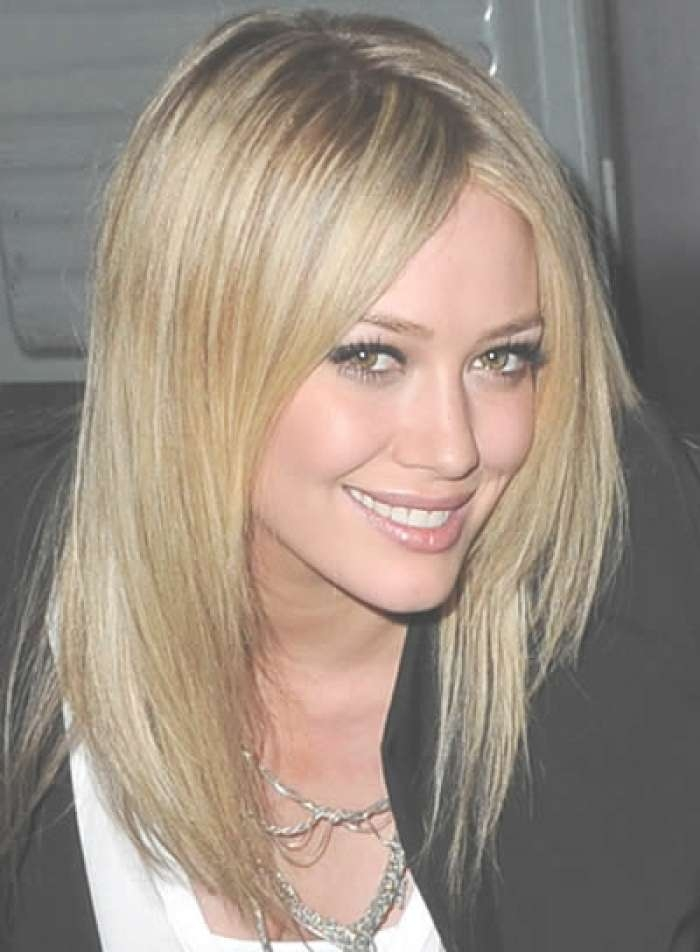 Trending Medium Length Haircuts For Fine Thin Straight Hair Inside Newest Medium Hairstyles For Thin Straight Hair (View 3 of 25)