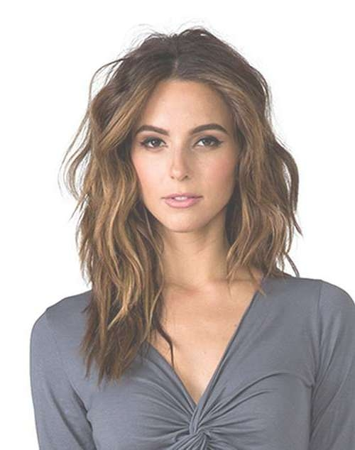 Trending Mid Length Layered Hair Pics | Hairstyles & Haircuts 2016 Intended For Most Recent Medium Hairstyles Without Layers (View 19 of 25)
