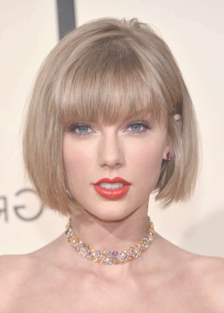 Trendy Bob Haircuts From Celebrities For 2016/2017 – Haircuts And Intended For Celebrity Short Bobs Haircuts (View 25 of 25)