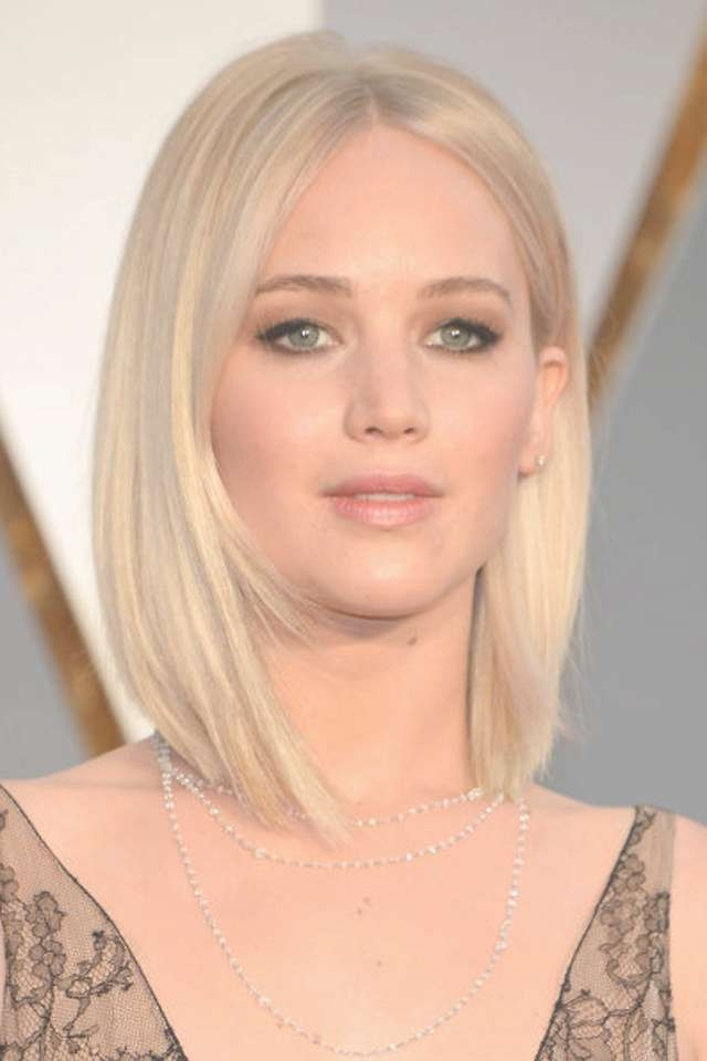 Photos Of Jennifer Lawrence Medium Hairstyles Showing 20 Of 25 Photos