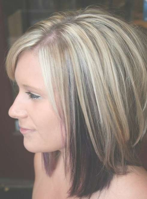 Trendy Hair Color For Medium Length Hair – Popular Haircuts With Regard To 2018 Medium Hairstyles And Colors (View 2 of 25)