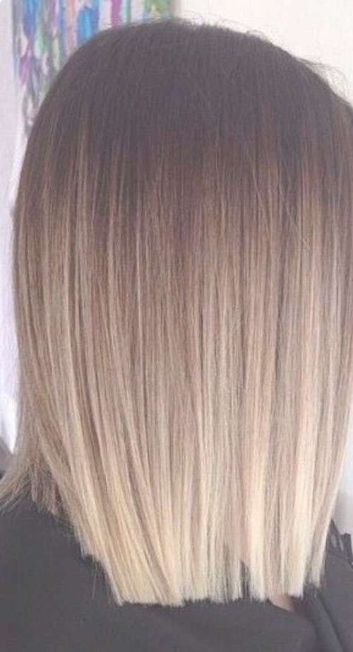 Trendy Hair Highlights : 25+ Ombre Hair Long Bob | Bob Hairstyles With Regard To Short Long Bob Hairstyles (View 25 of 25)