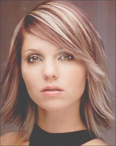 Trendy Medium Haircuts ~ Hairstyles 2011 Intended For Newest Trendy Medium Haircuts For Round Faces (View 25 of 25)