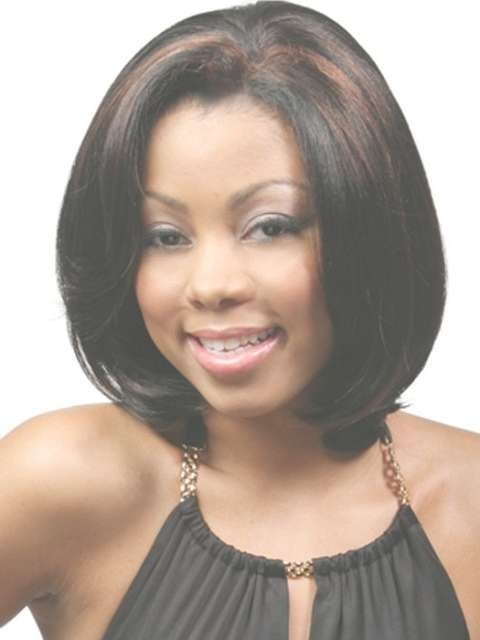 Featured Photo of Medium Hairstyles For Round Faces African American