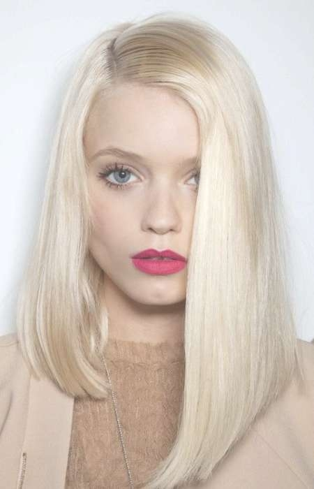 Trendy Shoulder Length Haircuts To Try In 2016 | Haircuts Pertaining To 2018 Asymmetrical Medium Hairstyles (View 4 of 25)