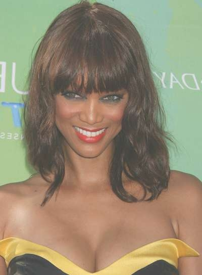 Tyra Banks – Beauty Riot Throughout 2018 Tyra Banks Medium Hairstyles (View 7 of 15)