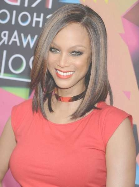 Tyra Banks – Page 3 With Most Recent Tyra Banks Medium Hairstyles (View 3 of 15)