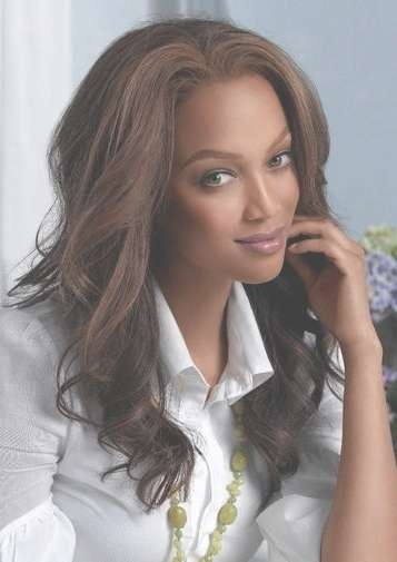 Tyra Banks – Page 3 With Most Recently Tyra Banks Medium Hairstyles (View 9 of 15)