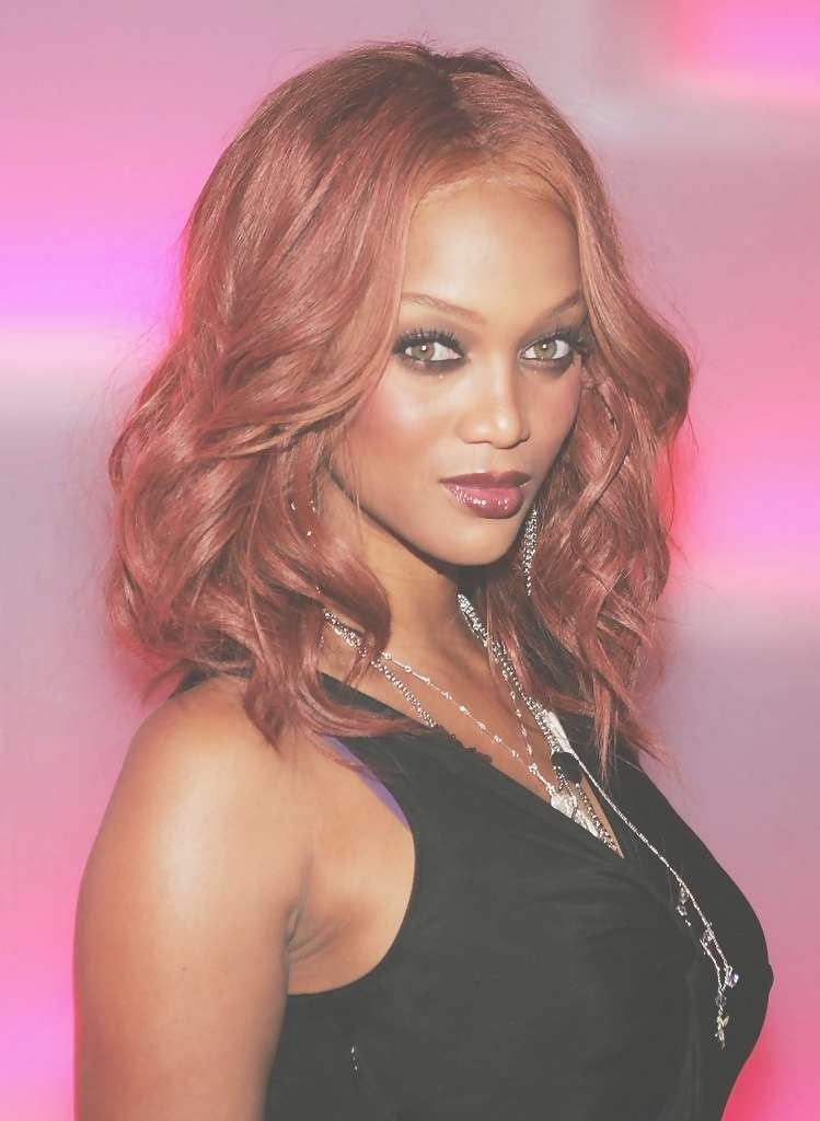 Tyra Banks Shoulder Length Hairstyles – Tyra Banks Hair – Stylebistro Inside 2018 Tyra Banks Medium Hairstyles (View 4 of 15)