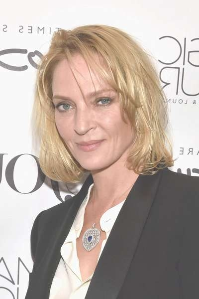 Uma Thurman Bob – Short Hairstyles Lookbook – Stylebistro Pertaining To Uma Thurman Bob Haircuts (View 21 of 25)