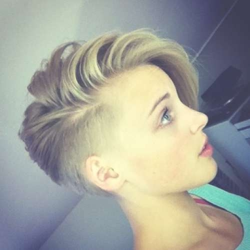Undercut For Teenagers One Side Shaved Hairstyles For Short Hair Throughout Most Recent One Side Short One Side Medium Hairstyles (View 11 of 25)