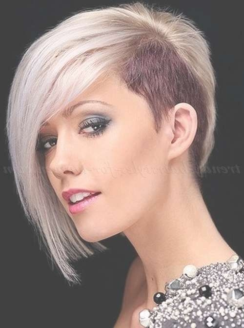 Featured Photo of Undercut Medium Hairstyles For Women