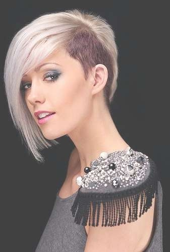 Undercut Short Hairstyles 2015 Women New Party Medium Undercut Intended For Newest Undercut Medium Hairstyles For Women (View 24 of 25)