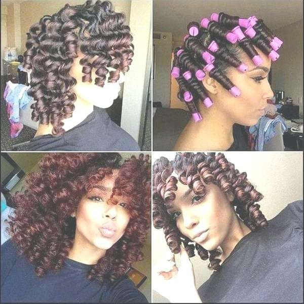 Unique Black Natural Curly Hairstyles For Long Length Hair Black For Most Popular Medium Haircuts For Curly Black Hair (View 24 of 25)
