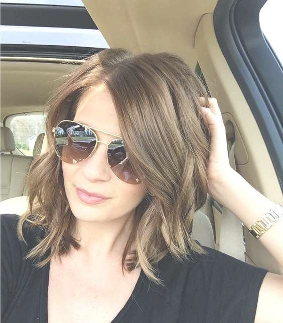 Unique Cute Medium Haircuts With Bangs Cute Hairstyles For Medium Intended For Recent Medium Haircuts With Bangs And Glasses (View 14 of 25)