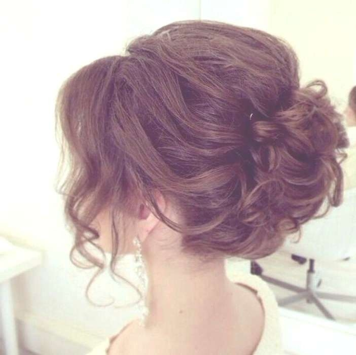 Unique Easy Prom Hairstyles For Shoulder Length Hair Easy Formal Throughout Most Popular Medium Hairstyles For Homecoming (View 17 of 25)