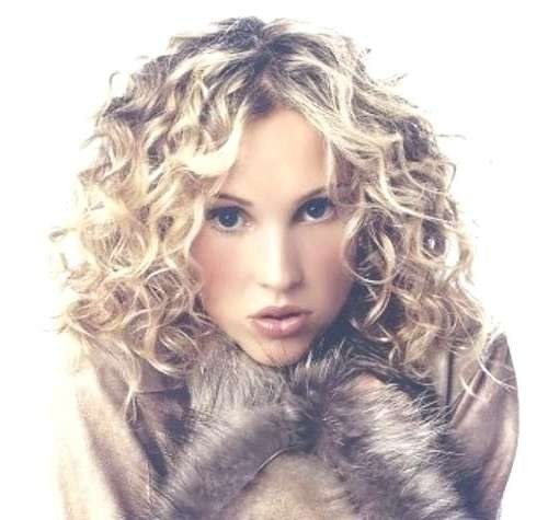 Unique Hairstyles For Thick Curly Hair Medium Length Medium In Best And Newest Medium Haircuts For Thick Curly Frizzy Hair (View 9 of 25)