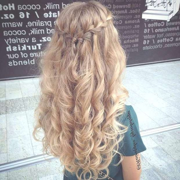 Unique Long Formal Curly Hairstyles Prom Updo Hairstyles For Long Pertaining To Current Long Hairstyle For Prom (View 24 of 25)