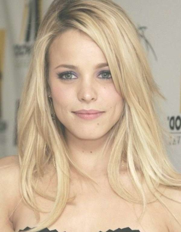 Explore Photos Of Medium Hairstyles With Layers And Side Bangs