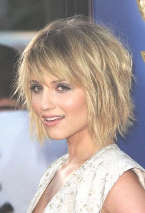 25 Ideas of Medium Hairstyles For Fine Hair With Bangs