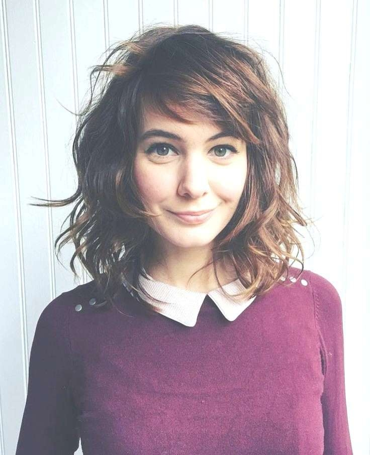 Photo Gallery Of Medium Haircuts For Wavy Frizzy Hair Showing 19 Of