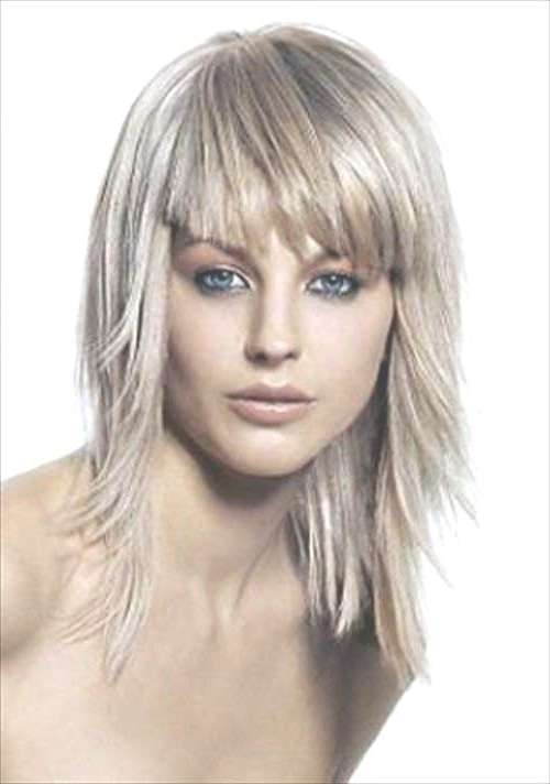 Unique Short Hairstyles Without Bangs Short Hairstyles With Bangs With Current Medium Hairstyles With Short Bangs (View 24 of 25)