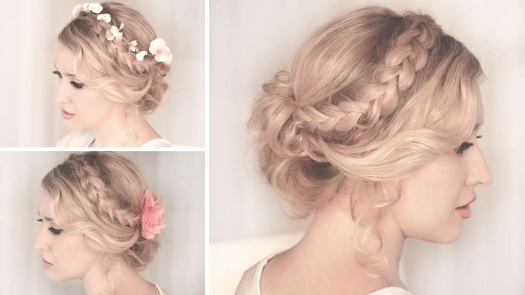 Updo Hairstyles For Balls Braided Updo Hairstyle For Mediumlong Within Most Recent Medium Hairstyles For Balls (View 15 of 25)