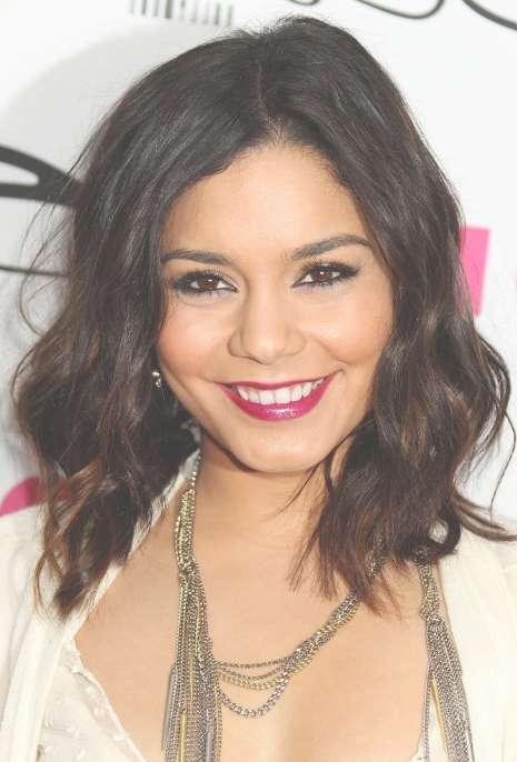 Vanessa Hudgens Medium Curly Hair Style – Hairstyles Weekly Regarding Recent Vanessa Hudgens Medium Haircuts (View 20 of 25)