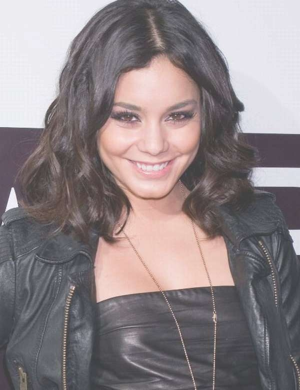 Vanessa Hudgens Medium Length Celebrity Hairstyles Intended For Most Up To Date Vanessa Hudgens Medium Hairstyles (View 19 of 25)