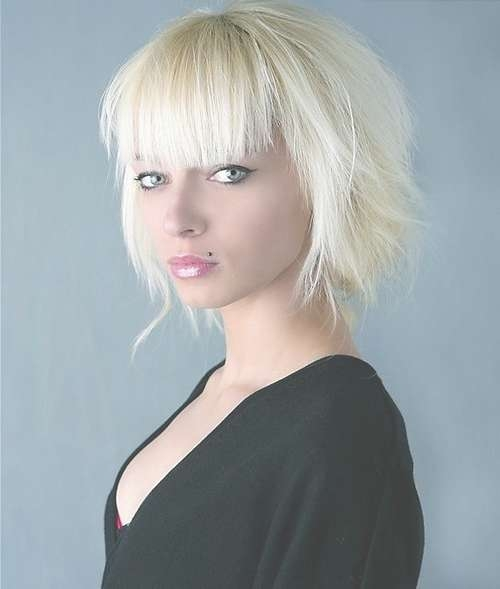 Very Short Haircuts With Bangs For Women   Short Hairstyles 2016 In Best And Newest Full Fringe Medium Hairstyles (View 15 of 25)