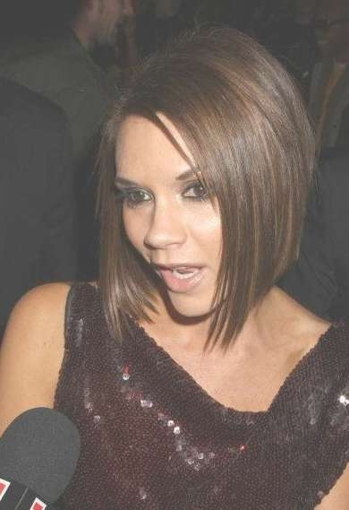 Victoria Beckham Bob Hairstyle – Trendy Short Haircut For Women With Regard To Best And Newest Victoria Beckham Medium Hairstyles (View 19 of 25)