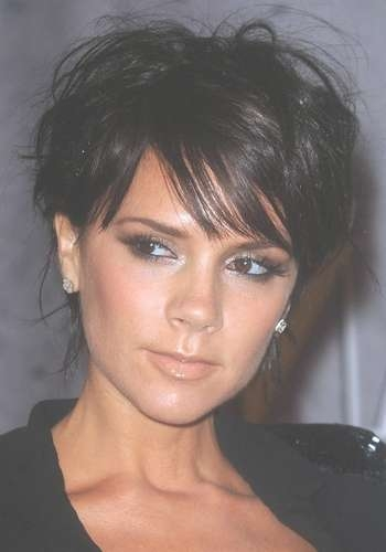 Victoria Beckham Hair Styles Over The Years Inside Most Popular Posh Spice Medium Hairstyles (View 13 of 15)