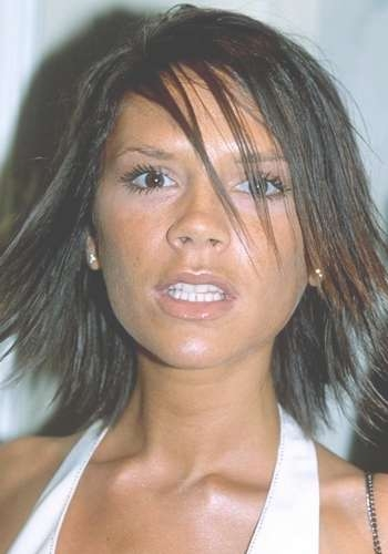 Victoria Beckham Hair Styles Over The Years Throughout Best And Newest Posh Spice Medium Hairstyles (View 14 of 15)