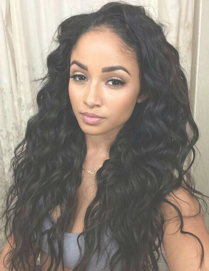 Wavy Hair Black Girl – Hairstyle Fo? Women & Man Throughout Most Recently Long Hairstyle For Black Ladies (View 19 of 25)