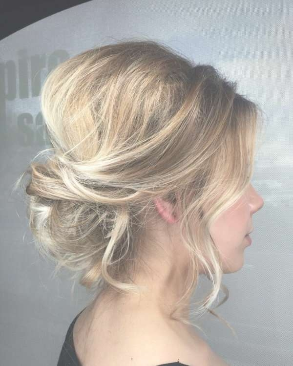 Wedding Hairstyle Ideas For Medium Length Hair With Most Popular Wedding Medium Hairstyles (View 24 of 25)