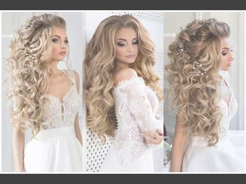 Wedding Hairstyle Prom Hairstyle For Medium Long Hair – Bridal With Regard To Most Up To Date Long Hairstyle For Prom (View 25 of 25)