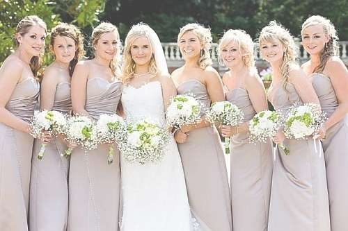 Wedding Hairstyles For Bridesmaids With Medium Length Hair Within Most Up To Date Medium Hairstyles Bridesmaids (View 23 of 25)
