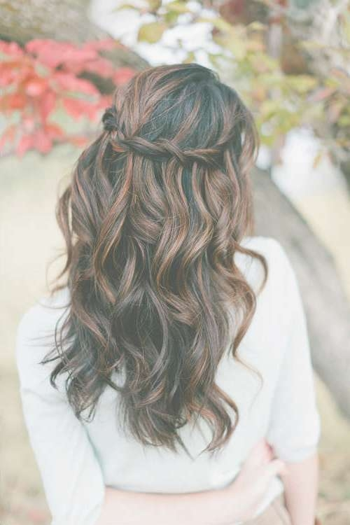 Wedding Hairstyles For Long Hair And Veil » Dfemale | Beauty Tips With Recent Long Hairstyle For Wedding (View 15 of 25)