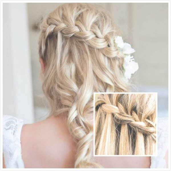 Wedding Hairstyles For Medium Length Hair Half Up – Hairstyle For Throughout Most Recent Homecoming Medium Hairstyles (View 15 of 15)