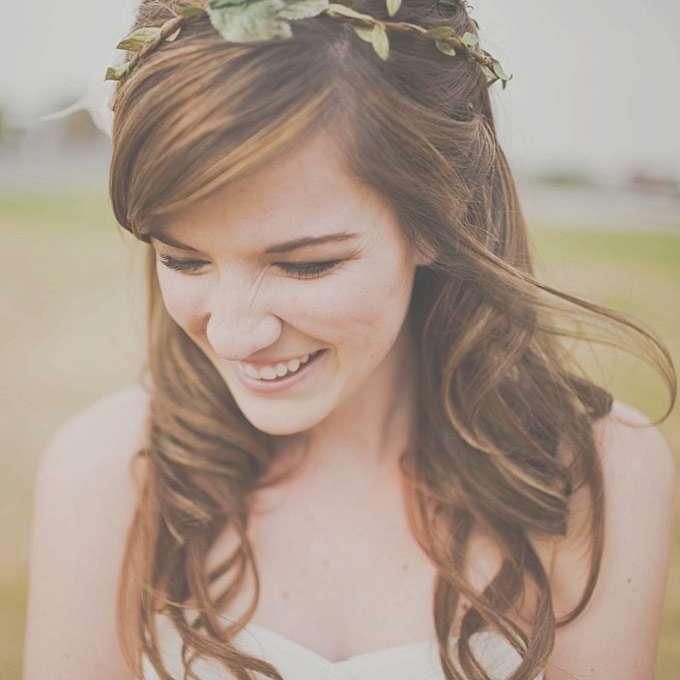 Wedding Hairstyles Ideas: Side Ponytail Half Up Medium Hair With Regarding Newest Medium Hairstyles With Headband (View 10 of 15)