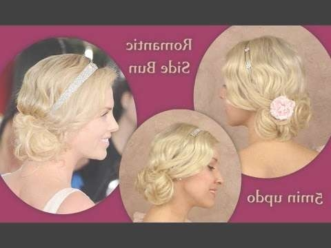 Wedding Prom Updo Hairstyle For Medium Shoulder Length Hair Throughout Newest Flapper Girl Medium Hairstyles (View 25 of 25)